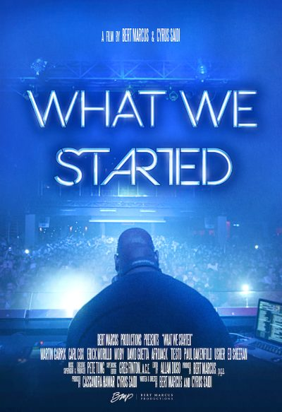 Carl Cox What We Started