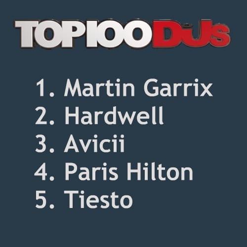 Paris Hilton DJ Mag