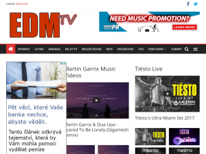 EDM TV Blog dance music blogs