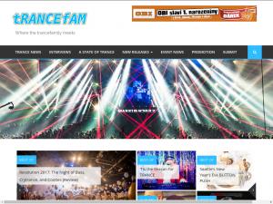 Trance Family trance magazine