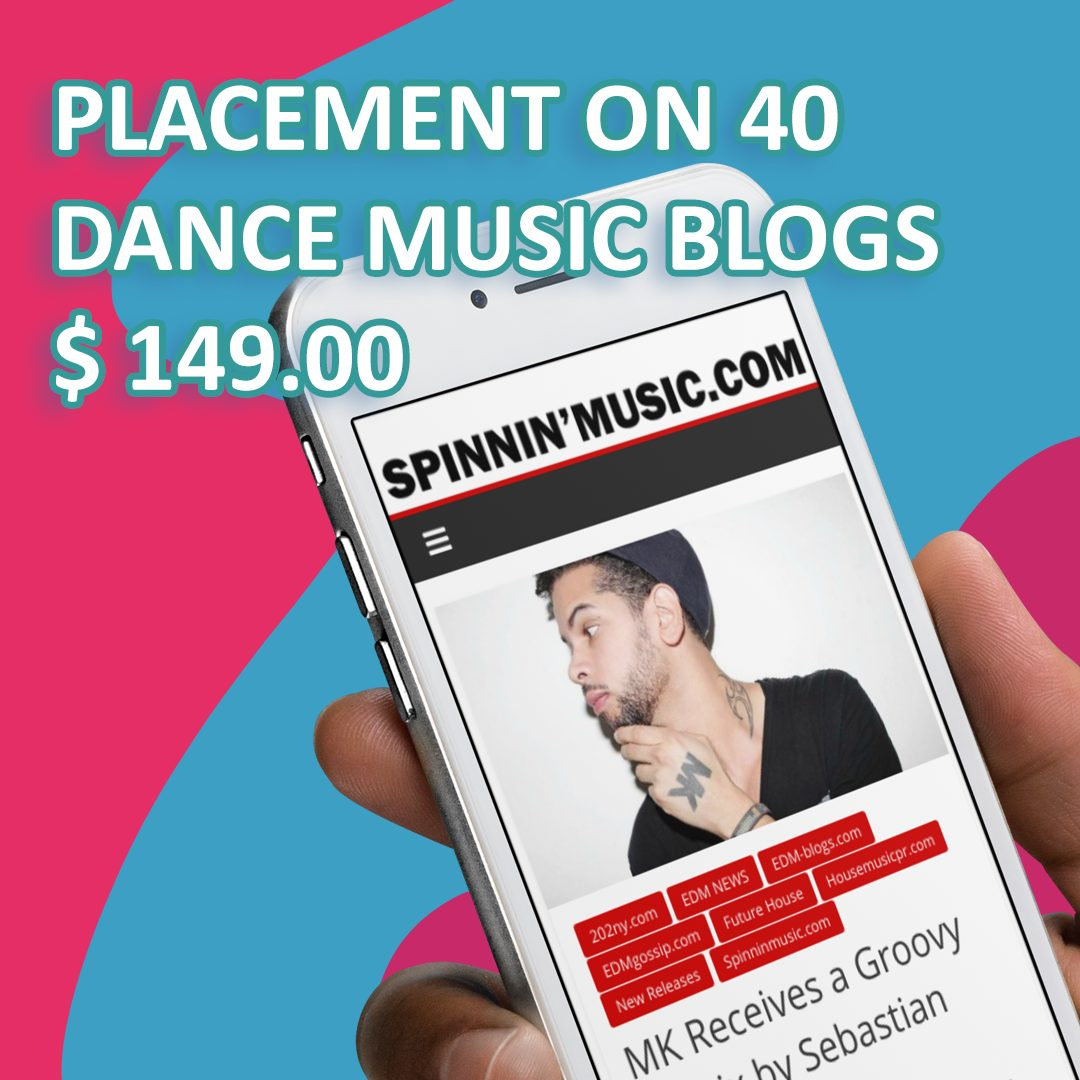 Dance Music Music Blog Promotion Service