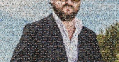 Solomun Portrait Made Out of TWTMEGP Techno Memes.