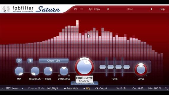 FABFILTER SATURN VST PLUGIN