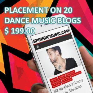 Music Blog Promotion | Dance Music PR | EDM Techno Hip Hop