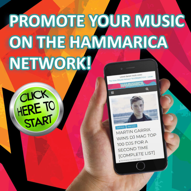 Hammarica EDM News Network Music Blog Promotion