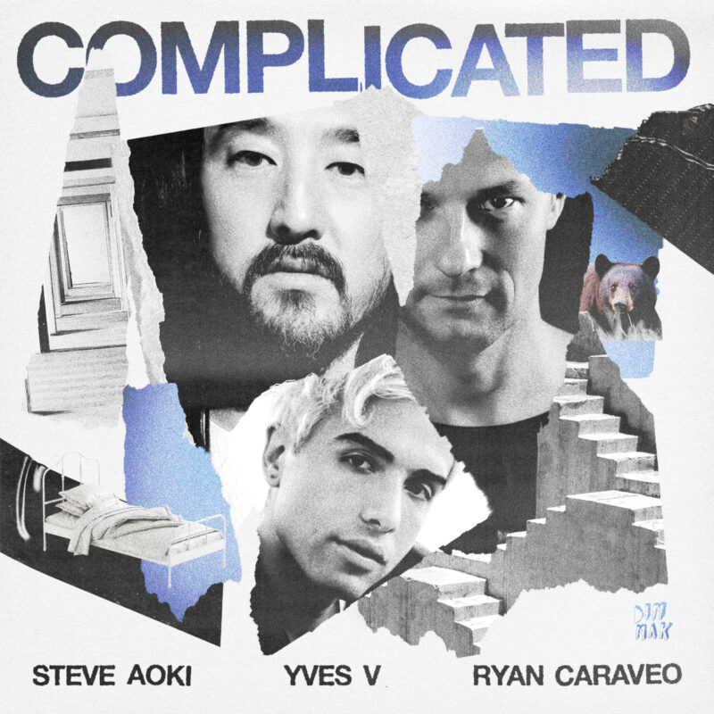 STEVE AOKI, YVES V AND RYAN CARAVEO