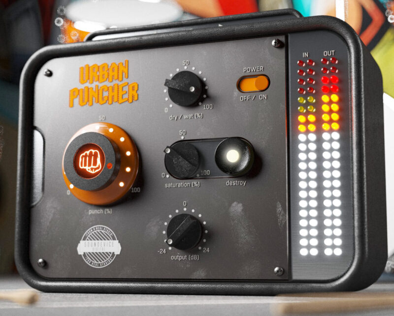 URBAN PUNCHER IS YOUR ONE-STOP-KNOB FOR RADIO READY BEATS