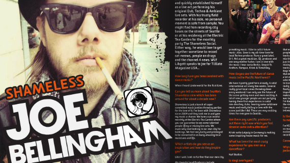 Joe Bellingham DJ Interview Hammarica PR 657 DJ Agency Electronic Dance Music News